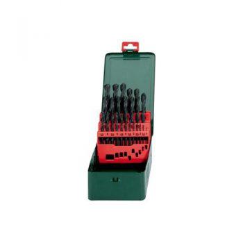 Metabo Набор HSS-R 25 свёрел 1-13мм в мет.коробке