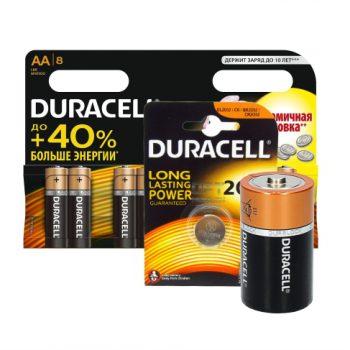 Устройства электропитания Duracell