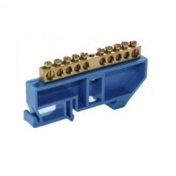 Шина N ноль на DIN-изоляторах ШНИ-8х12-20-Д-С (YNN10-812-20D-K07) IEK