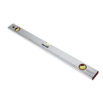 SPARTA Уровень алюминиевый, 2000 мм, 3 глазка, линейка