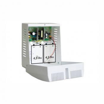 Источник бесперебойного питания СКАТ-2400М 24В 1.3А под 2 АКБ 4 А/ч (СКАТ-2400М)