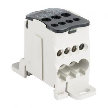 Блок распределительный КРОСС крепеж на панель и DIN КБР-80А EKF