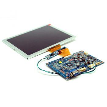 "KIT MP2908VGA Цветной 8"" TFT-LCD модуль разрешением 800 x 600 с VGA входом"