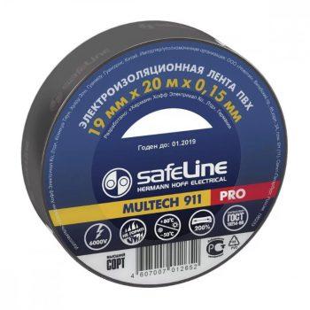 Изолента Safeline 19/25 черный