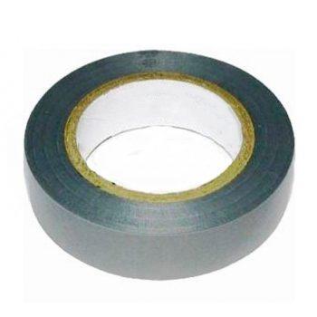 Изолента ПВХ 15мм 20мм серо-стальная