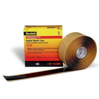 Изолента резиново-мастичная термостойкая 50мм 3м Scotch 2228
