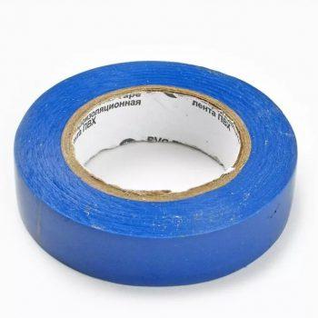 Изолента ПВХ 15мм 10м синяя