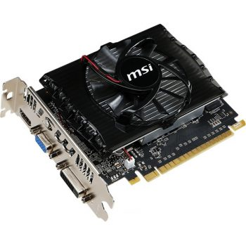 Видеокарта PCI-E MSI GeForce GT 730 2048MB 128bit DDR3 [N730-2GD3V2] DVI HDMI DSub