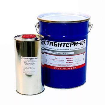 """Огнезащитный износостойкий лак для древесины """"Стабитерм-107"""" 4кг"""