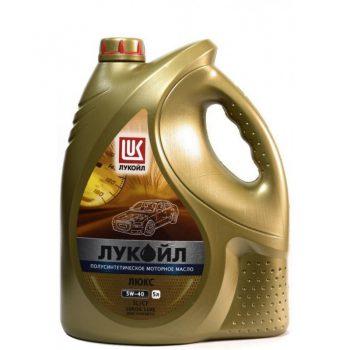 Масло ЛУКОЙЛ ЛЮКС полусинтетическое
