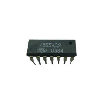 К553УД2 (85-90г), Микросхема, Операционный усилитель средней точности